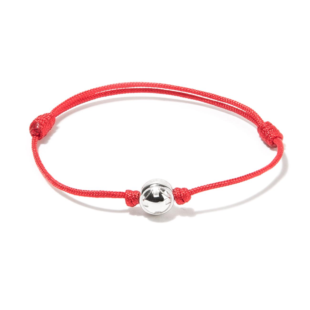 nylon cord bracelet with logo ball oskar gydell